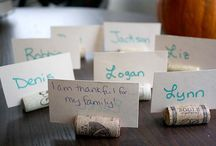 Thanksgiving Crafts / DIY Thanksgiving ideas / by Glue and Glitter