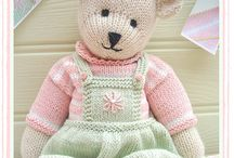 Knitting toys / Knit toys, giocattoli, pattern, dyi.....