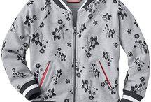 Toddler Printed Bomber Jacket
