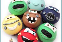 Cars-Mcqueen / cakes, cupcakes & cookies ideas