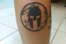 tattoo spartan race