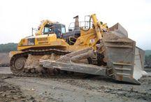 puskukoneet ja kaivurit