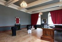 St Columb's Hall / white oak parquet flooring. the different grains give it a real multi tonal effect which works great in the large open space.