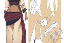 Arabic clothes, armor