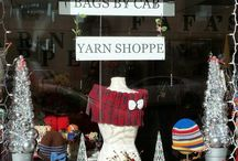 Christmas Time at Bags By CAB - Yarn Shoppe! / A Yarn Shoppe Christmas - Handmade just for you!
