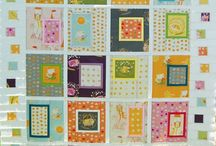 Quilting - fussy cut quilt designs