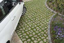 Zelené parkovisko