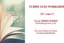 Worskhop / Ásás, Coaching, Rebirthing workshopok a Borostyán Önfejlesztő Műhelyben