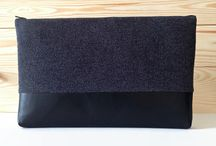 Felt and Leather Laptopbags