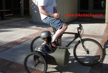 Sidecar bicycles / Bicycles with sidecars