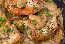 Porkchops, comfort food