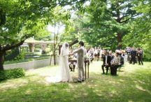 garden wedding / setagaya