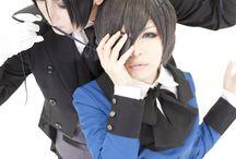 Cosplay anime black butler