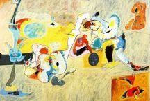 Painting. Arshile Gorky