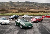 Viaje por Escocia / El elegante Porsche 911 número un millón encabeza un viaje apasionante por las Tierras Altas de Escocia.