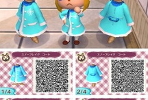 Animal Crossing New Leaf QR Codes / by Skulleigh
