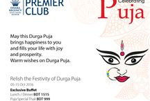 Relish The Festivity of Durga Puja @ Dhaka Regency Hotel & Resort! / * Exclusive Buffet Lunch/Dinner @ BDT 1515 * Special Thali @ BDT 999