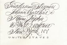 Calligrafia / Scrittura - calligrafia