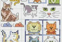 Cats stitching