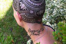 henna koronák