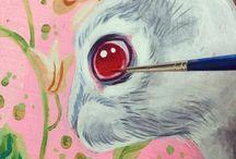 Alice in W:Art/Julie Filipenko / Alice in wonderland (illustrator)