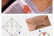Buste - envelope punch board