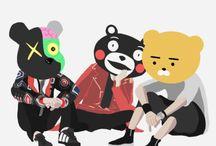 BTS dibujos