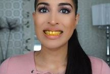 Weise Zähne