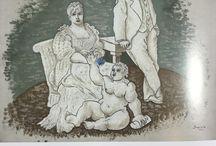 """immagini e parole / Uso delle immagini nelle seguenti opere letterarie: -""""Quer pasticciaccio brutto de via Merulana"""", C.E.Gadda -""""Artemisia"""", A.Banti -""""Caravaggio"""", R.Longhi -""""La nostra anima"""", A.Savinio -""""Il castello dei destini incrociati"""", I.Calvino -""""La divina mimesis"""", P.P.Pasolini -""""Cinque novelle sulle apparenze"""", G.Celati"""
