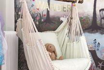 bohemian baby room