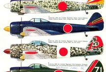 JAPANESE WW2 PLANES