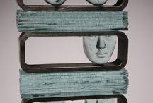 esculturas en vidrio