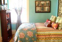 dreamy bedrooms / by Amanda Martin