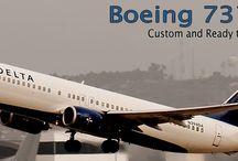 Boeing 737 Mahogany Models