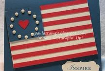Patriotic Cards / by Terry Gozdur