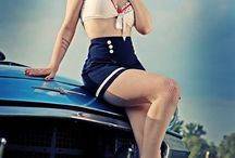 pinup posing / by Brenda Shannon