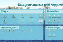 Organizing / Desktop organizer, home organizing, computer organizing