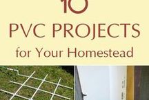 PVC greenhouse/projects