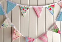 Flags bunting / DIY paper & fabric Banners, for party, home decor and gifts. Inspiring banners and tutorials. feel free to add more or ask me (Inbal) to join this board.