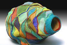 Crochet with harakeke