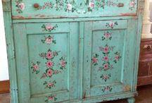 Muebles vintage y antigüedades