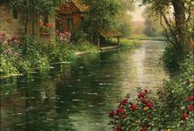 Nice landscapes paintings,