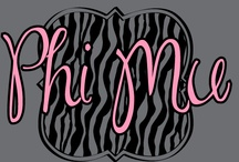 Phi Mu / These designs were specifically made for or requested by the sisters of Phi Mu. All of our designs can be customized to fit your organization or chapter needs! / by Greek Streak