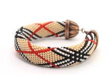 Bead crochet (necklace, bracelet). beaded beading jewelry