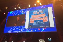Real-Time Graphics / Since 2011, JESS3 has created live graphics that capture the conversations, content, and concepts of LeWeb, the largest tech conference in Europe.