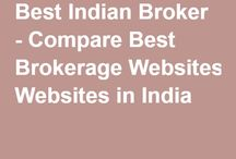 bestindianbroker | Trader in Town / Get the brokers history, charges, reviews, trading mobile application in India. Compare Best Brokerage Websites in India.