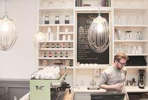 Bakeshop, restaurants