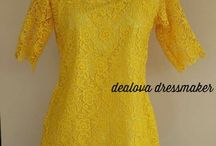 Kebaya + dress batik + blouse