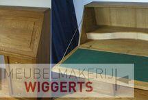 Bureaus / Meubelmakerij Wiggerts maakt ook fijne werkplekken.