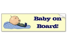 Baby On Board Sticker / Cute and funny Baby On Board Sticker